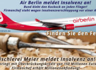 Air Berlin meldet Insolvenz an!